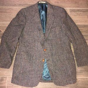 Men's The Coop Harvard HARRIS TWEED Blazer Jacket